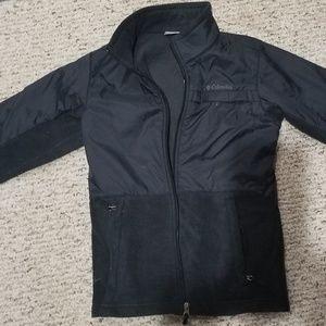 Boys black Columbia jacket